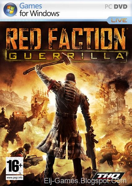 Red Faction: Guerrilla   Red Faction: Guerrilla  Developer:Volition  Publisher:THQ  Genre:Shooter  Release Date:September 15 2009 (US)  About Red Faction: Guerrilla  Red Faction: Guerrilla is a 3rd person open-world action shooter set on Mars 50 years after the events of the original Red Faction. Players take the role of an insurgent fighter with the newly re-established Red Faction movement as they battle for liberation from the oppressive Earth Defense Force. Throughout their fight for…