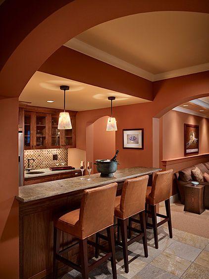 when iu0027m ready for a changewarm terra cotta color tiles - Paint Ideas For Kitchen