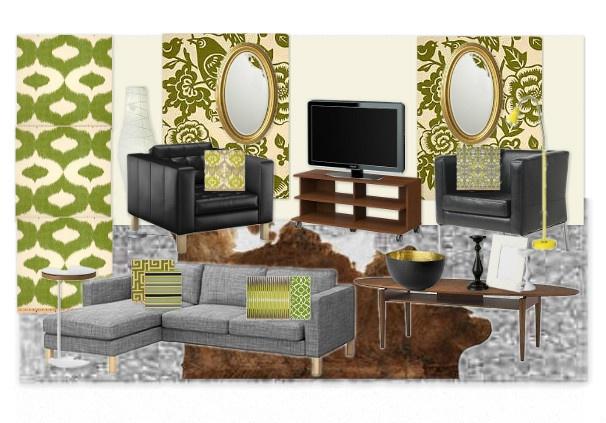 Apartment living room design colour alternative my for Unconventional living room ideas