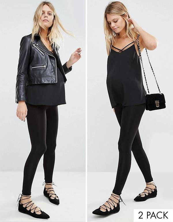 f3f0e37404af6 New Look Maternity Seam Free Legging 2 Pack | Maternity | Maternity ...