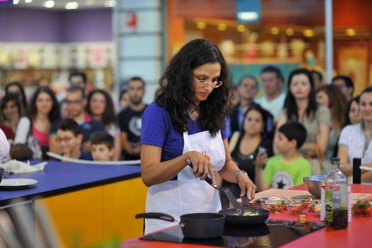 Cozinhando no MegaChef com o chef estrelado Bruno Barbieri