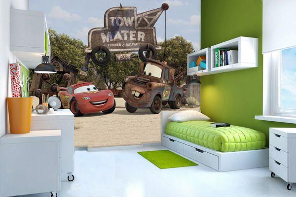 29 best disney cars themed bedroom images on pinterest for Disney pixar cars bedroom ideas