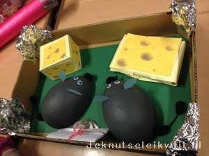 Sinterklaas surprise Muizen met kaas