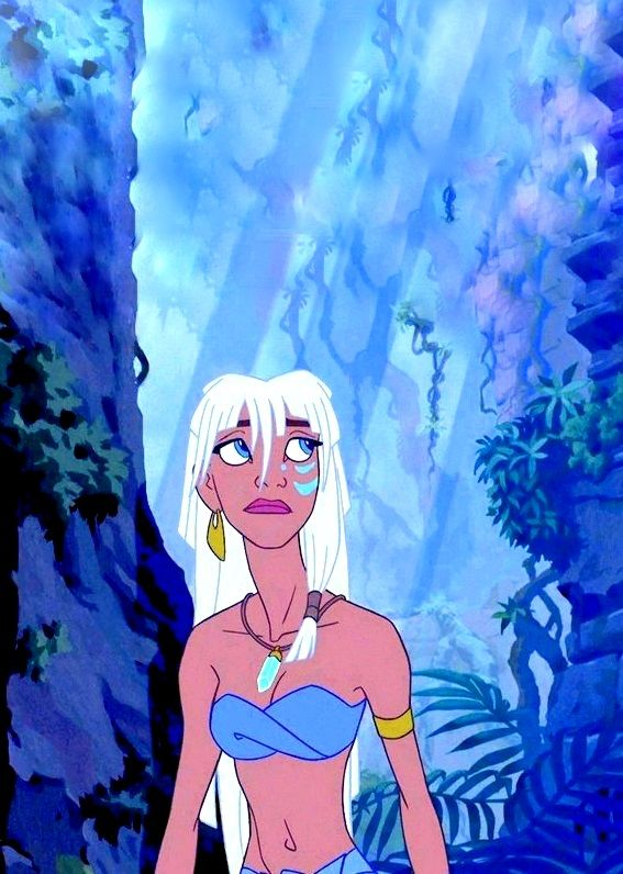"Princess Kida (Cree Summer) from ""Atlantis: The Lost Empire"""