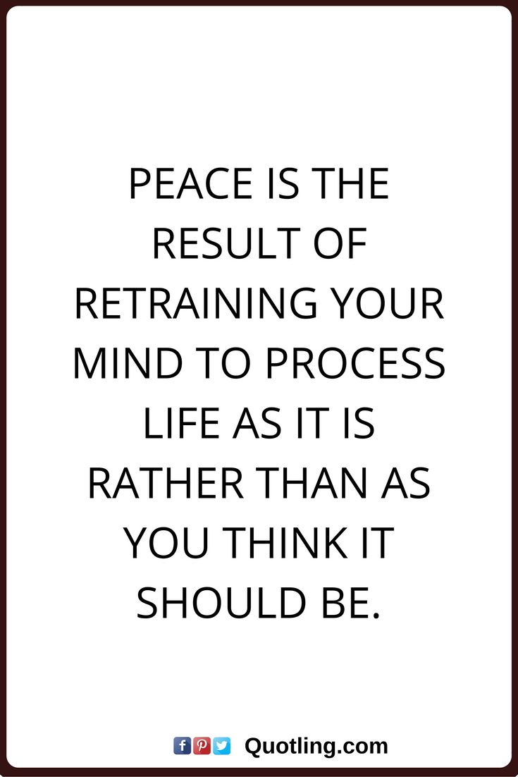 Peace Quotes Free Mind Peace Quote  Inspiring Quotes And Words In Life