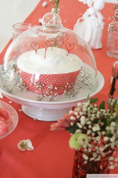 Kuchengrüße mit Herz