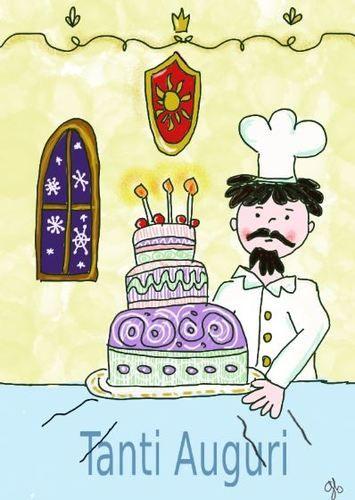 Tanti auguri torta
