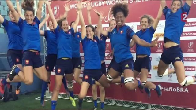 VIDEO. Au cœur de France 7 féminines au Brésil avant les Jeux Olympiques de Rio - Le Rugbynistère - 03/05/2016