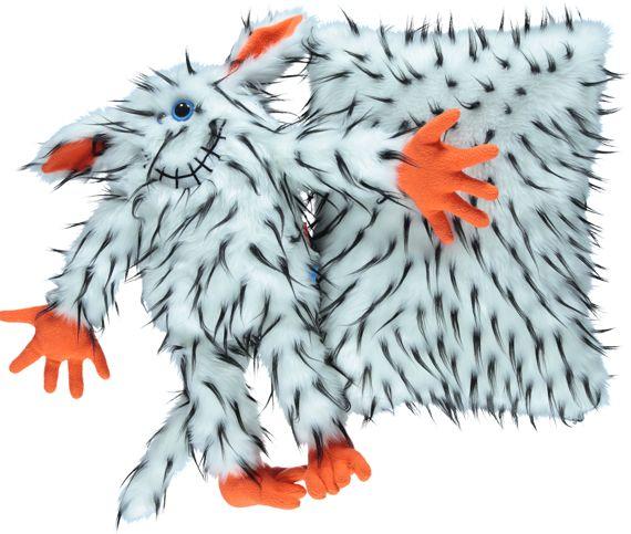 Maskotka futerkowa DŻO-DŻO biały/Mascot fur DŻO-DŻO white