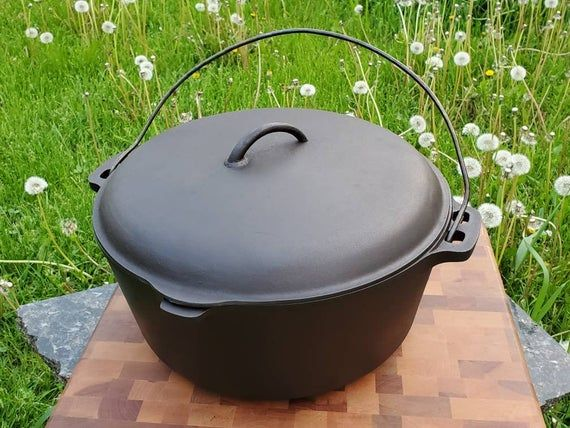 Extremely Large Bsr 12 Dutch Oven Sits Flat On Coil Top Etsy Stoves Range Dutch Oven Soup Maker