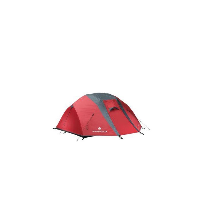 Tenda con strutttura in duralluminio solidarizzata con giunti radiali. CHAOS 3 by FERRINO! Prenotala da http://landosport.com/tende-3-posti/2728-chaos-3.html