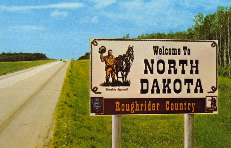 WELCOME TO ROUGHRIDER COUNTRY NORTH DAKOTA
