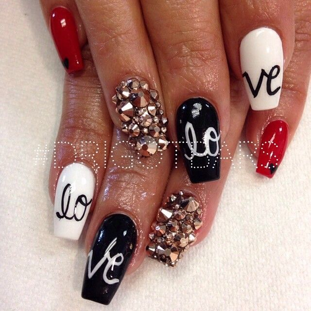 Best 25 valentine nails ideas on pinterest valentine nail best 25 valentine nails ideas on pinterest valentine nail designs valentine nail art and nails for valentines day prinsesfo Images