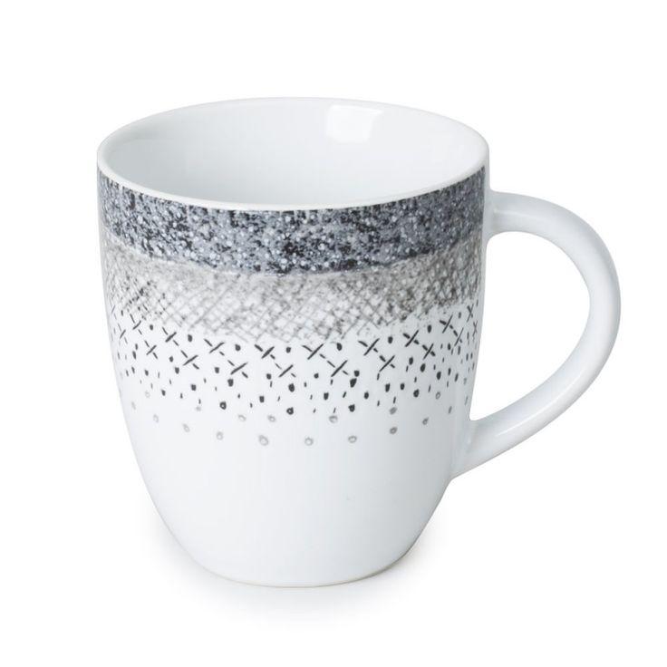 """Mug collection """"Stella"""".  En grès.  Superbe qualité pour une table raffinée !"""