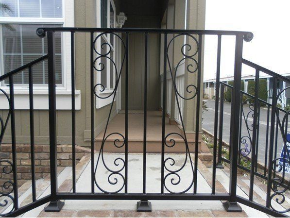 1000 images about wrought iron balcony on pinterest for Terrace railing design