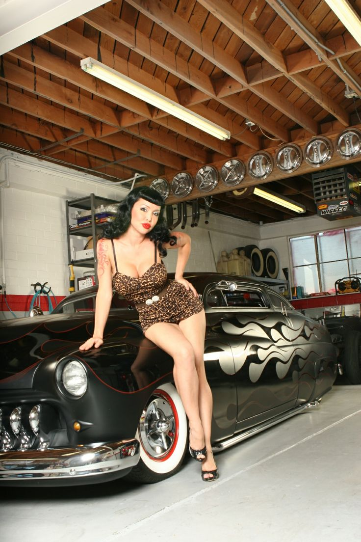 Hotrod Girls Pin Up Models E Carpictures Com Autos