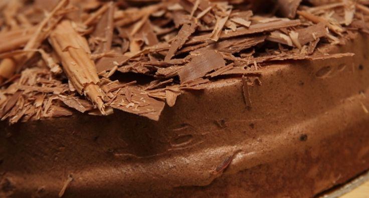 Tejszínes csokoládétorta