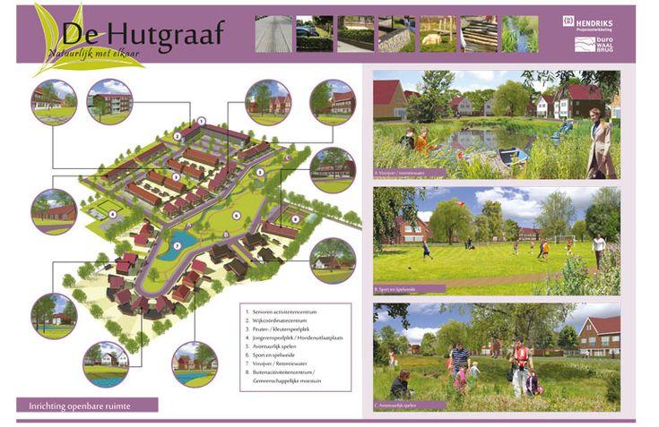Paneel stedenbouwkundig plan Hutgraaf