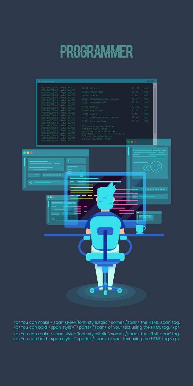 Download Programmer Wallpaper By Devilwine 0b Free On Zedge Now Browse Millions Of Popular Code Wallpapers And Code Wallpaper Technology Wallpaper Coding