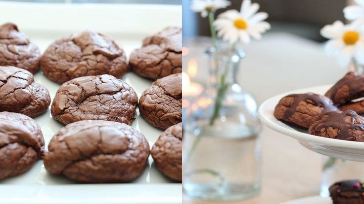 Brownie cookies - Trines matblogg