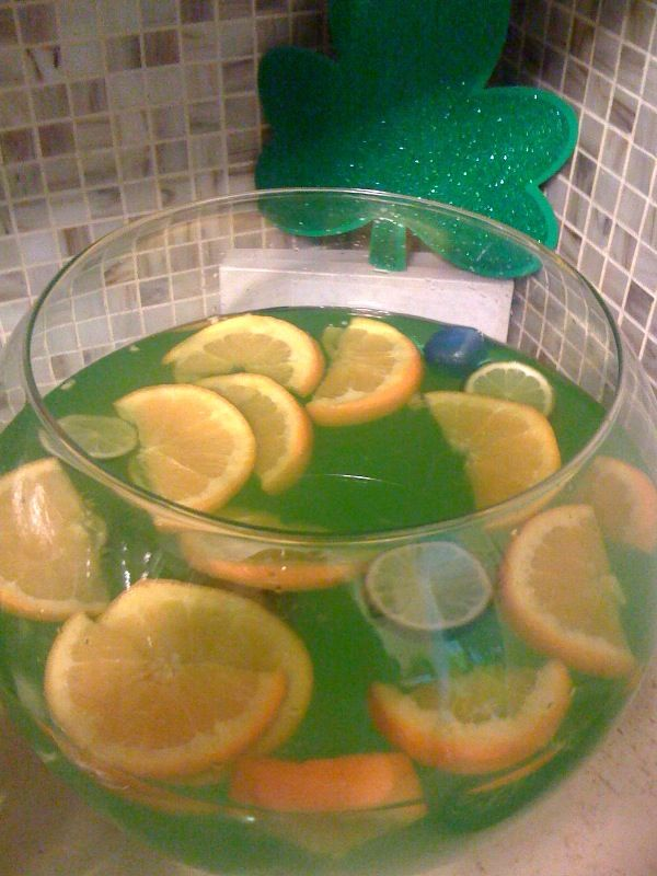 St. Patrick's Day Punch Recipes (Alcoholic)