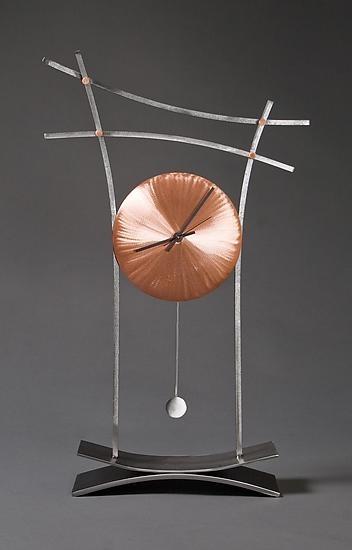 """Asian Mantle Clock"" by Julie Girardini and Ken Girardini"