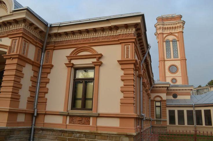 Casa Ioachim (1890), mai târziu Casa George Melidon, astăzi Biblioteca Municipală, Roman