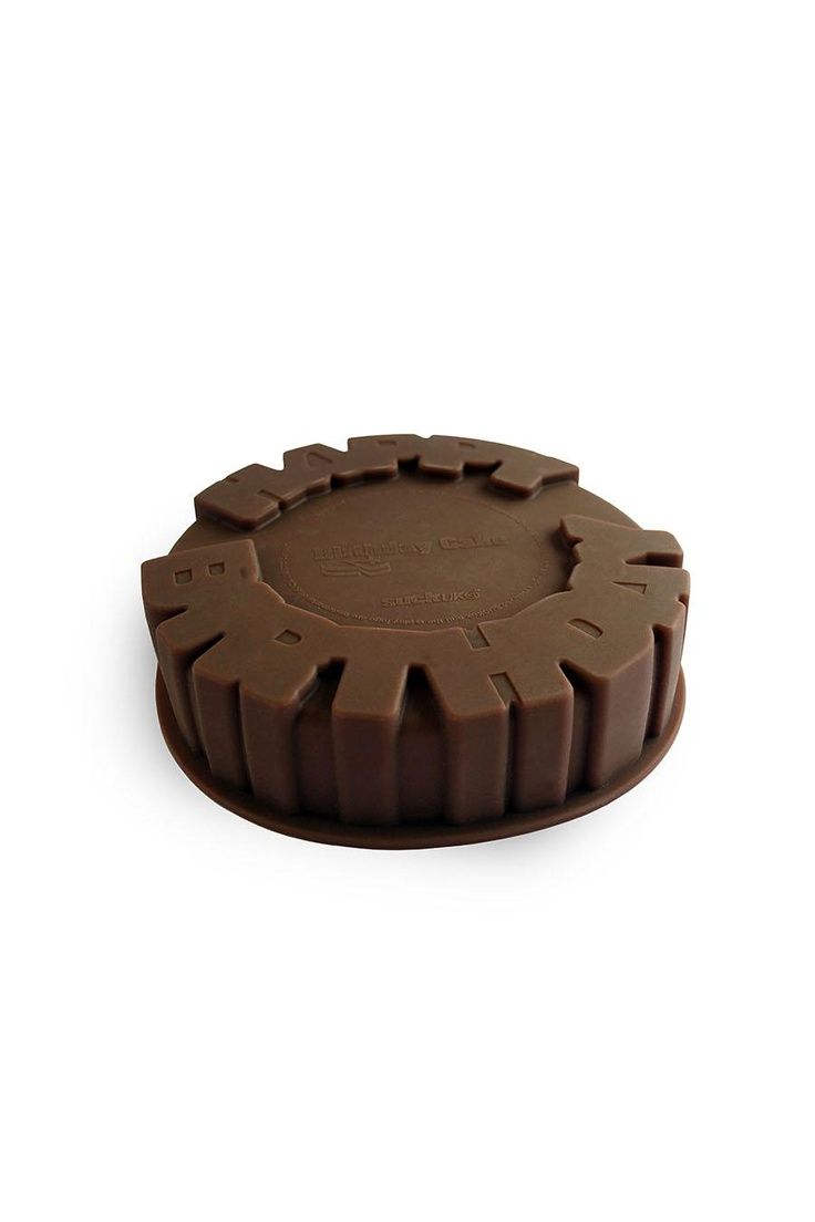 SuckUk Happy Birthday Cake Mould $21.47 pintowinGifts @giftsdotcom