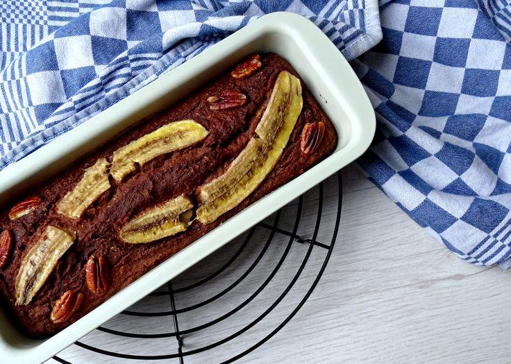 Courgette bananenbrood