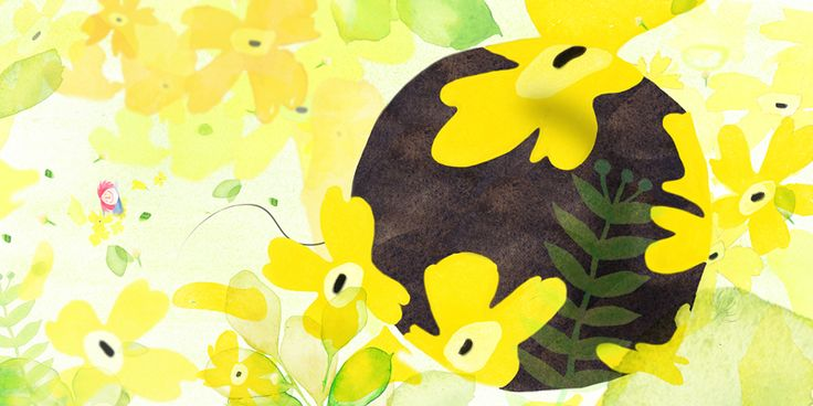 illustration,일러스트,picturebook,노란꽃,꽃삽화,동화,동화책,그림책,일러스트레이션,이미지,동화삽화