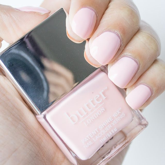 Butter London / Nude Pink Nails