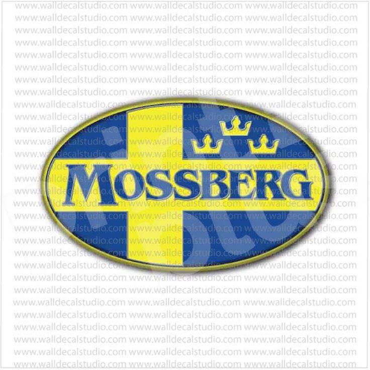 Mossberg Guns Rifles Ammunition Military Sticker