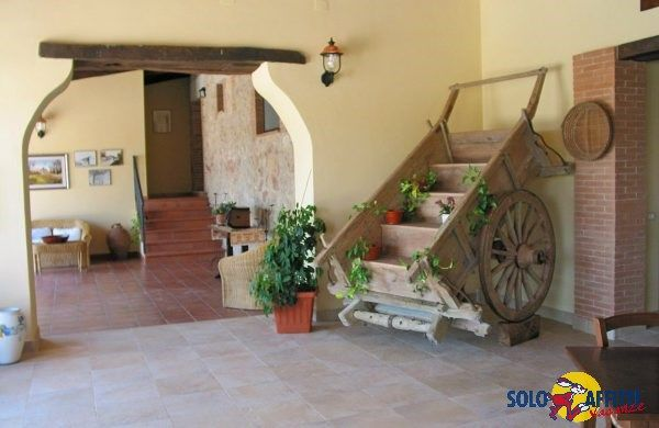 Stone farmhouse in the hills 22 km from Assisi.