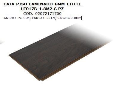 piso laminado 8mm