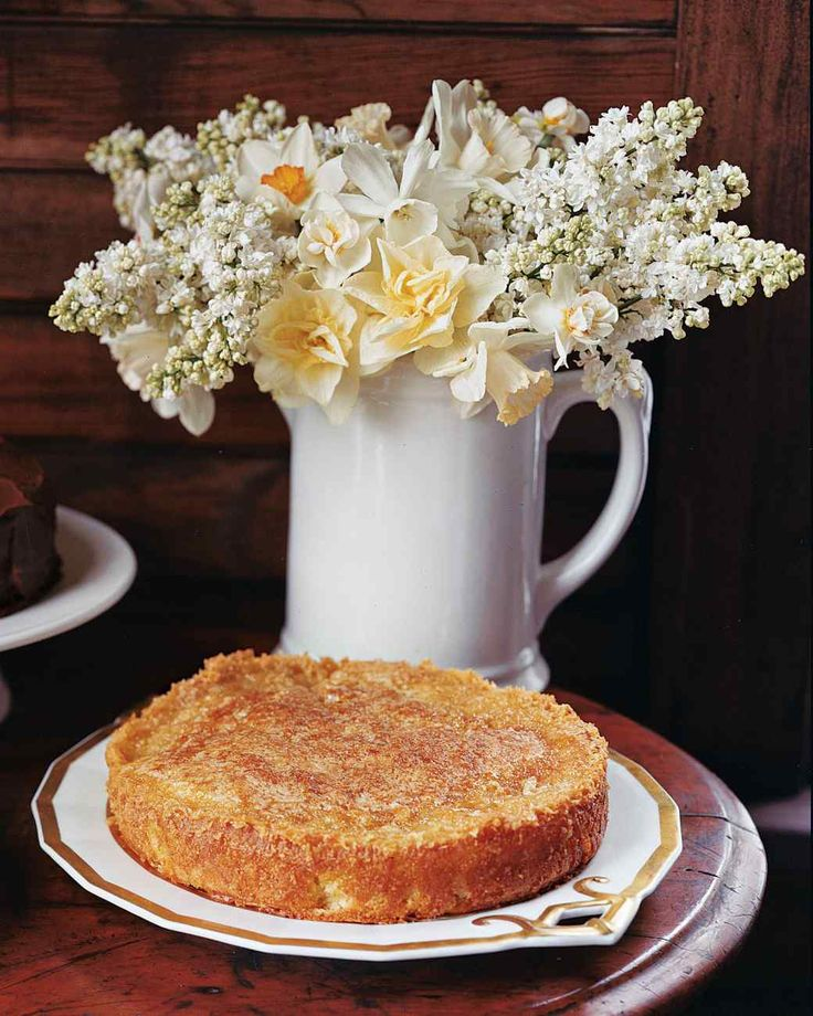 Buttery Apple Cake | Martha Stewart Living - This moist apple cake features a sweet, crackly golden topping.