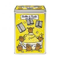 Boite à Sachets de Purée - jaune