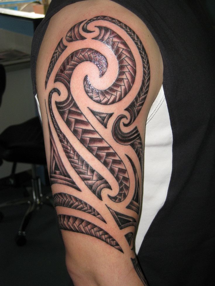 Popular Tribal Tattoo Designs: 30 Best Tribal Tattoo Designs For Mens Arm