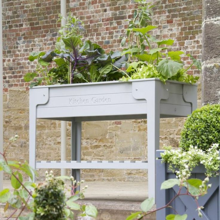 Kitchen Garden Living Larder Raised Planter Garden Pinterest Gardens Planters And Outdoor