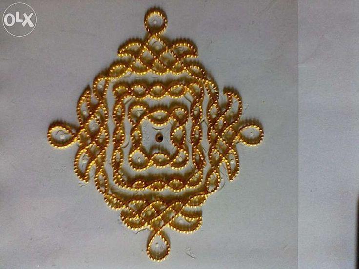221 best images about rangoli on pinterest door hangings for Door rangoli design images new