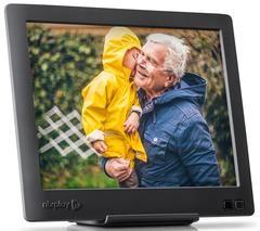 Photo Frame High Resolution Display Plays photos and videos Smart Hu-Motion Sensor