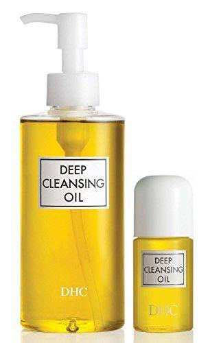 DHC Deep Cleansing Oil, 6.7 fl. oz & Deep Cleansing Oil Travel Size, 1 fl. oz