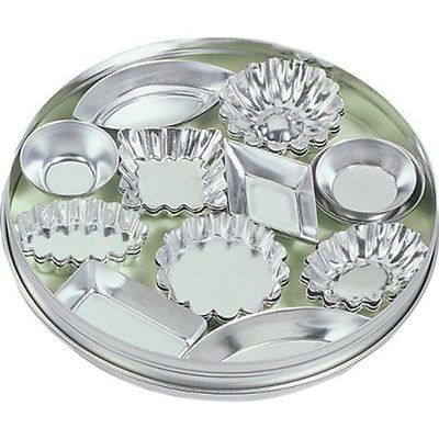 Fox run craftsmen 36pc #tinplated #steel mini tartlet set bakeware w/ #storage ti,  View more on the LINK: 	http://www.zeppy.io/product/gb/2/231934721417/