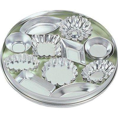 Fox run craftsmen 36pc #tinplated #steel mini tartlet set bakeware w/ #storage ti,  View more on the LINK: http://www.zeppy.io/product/gb/2/231934721417/