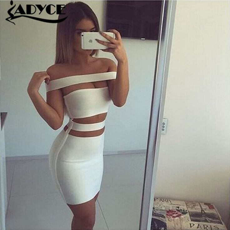 2015 women white black olive colouryul off shoulder cut out  bandage dress sexy women dress Khloe Kardashian dress dropshipping //   Цена: $ US $24.38 & Бесплатная доставка //    #fashionmartonline #мода #стиль