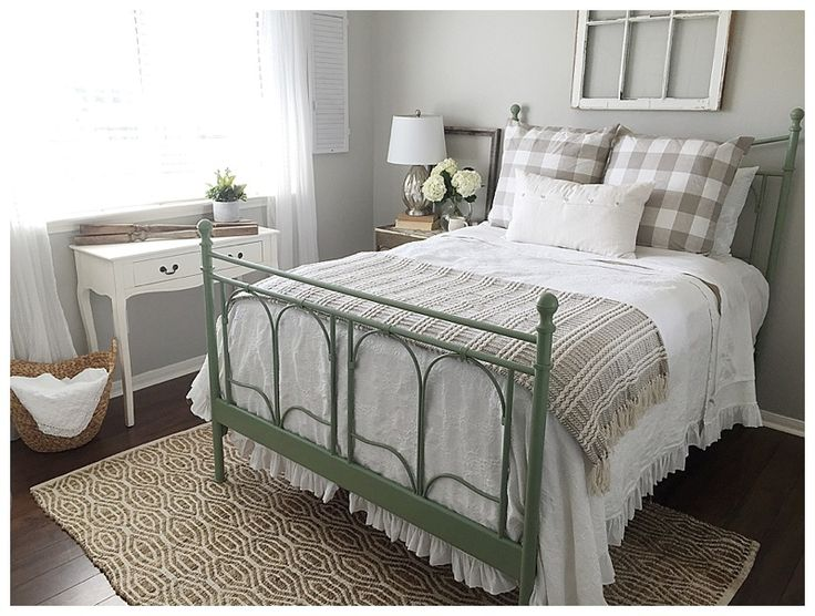 Guest Room Makeover and Ikea Noresund Bed Hack - The Blooming Nest
