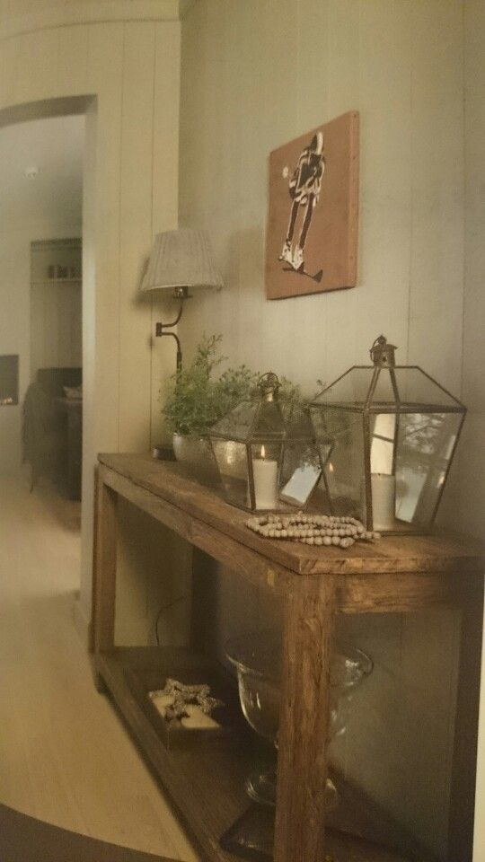 Konsollbord stue pinterest - Keukenmeubelen rustiek ...