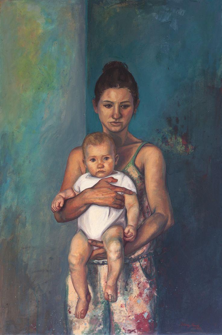 Selfportrait, 2014, 140 x 94 cm. Tuval üzerine yağlıboya / Oil on canvas