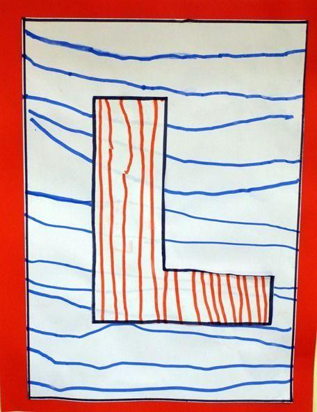 Une séquence sur les lignes droites horizontales en PS - 1, 2, 3, dans ma classe à moi...