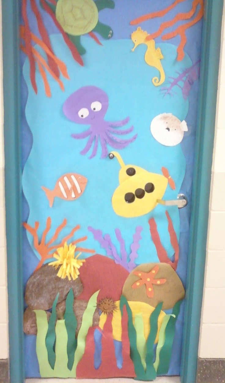Under The Sea Classroom Decoration Ideas ~ Best images about creative classroom pics on pinterest