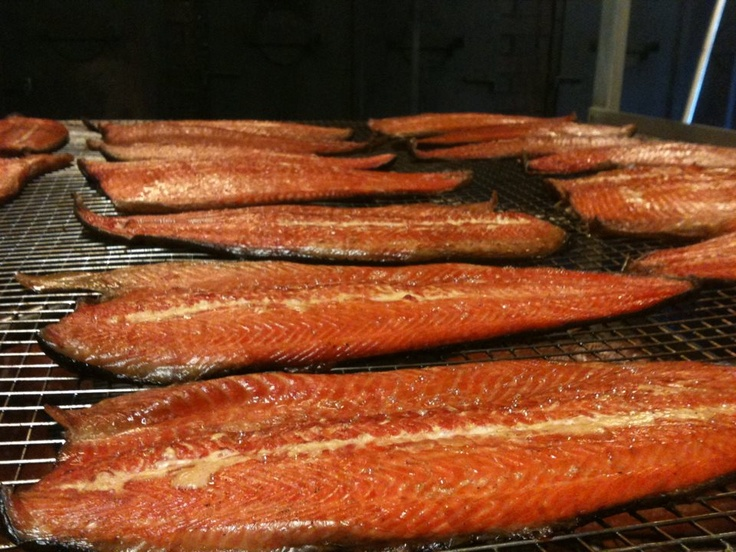 Smoked Trout  J.Willy Krauch & Sons Ltd.  Tangier, NS,Canada  www.willykrauch.com